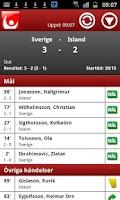 Screenshot of Mål & Resultatservice