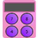 Pretty Pink Calculator icon