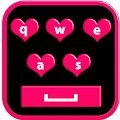 Love Pink Keyboard APK for Bluestacks
