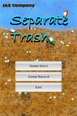 Separate Trash~ Game