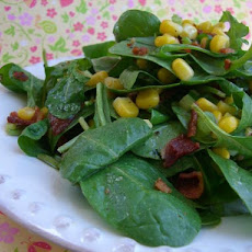 Arugula Corn Salad With Bacon Recipe