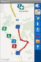 Screenshot of Hiking GPS Lite