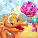Dinosaur Kingdom Color Puzzle icon