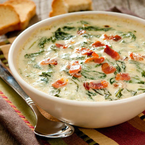 Queso Spinach Bacon Dip