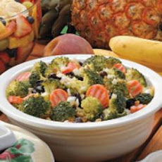 Raisin Broccoli Salad