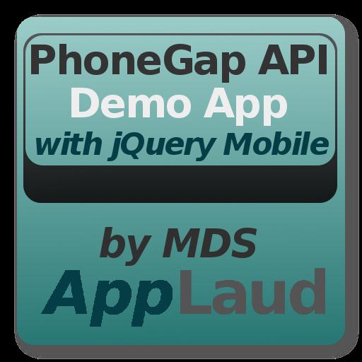 PhoneGap API w/ jQuery Mobile LOGO-APP點子