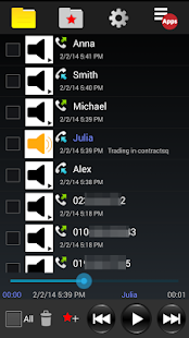 Automatic Call Recorder - PRO- screenshot thumbnail
