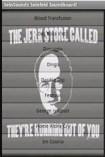 SeinSounds Seinfeld Soundboard - screenshot