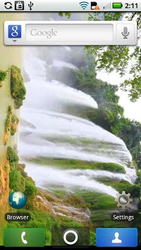 LIVE Waterfall Video WALLPAPER