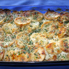 Potato Gratin With Truffle Oil