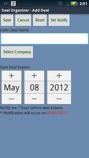 【免費購物App】Deal Organizer-APP點子