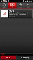 Screenshot of NRJ France Smartphone