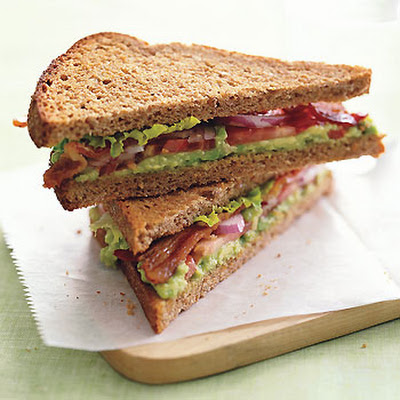BLT with Avocado Spread