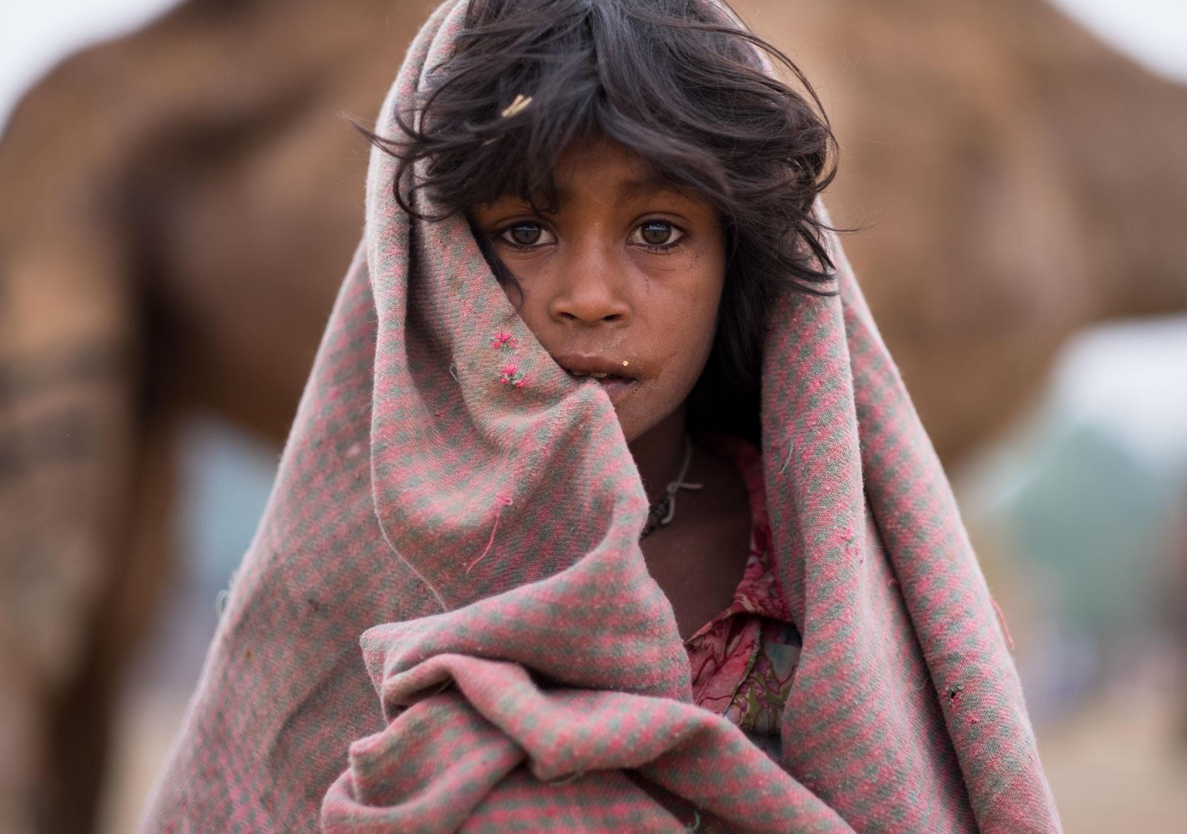 Gypsy Child, Pushkar, India