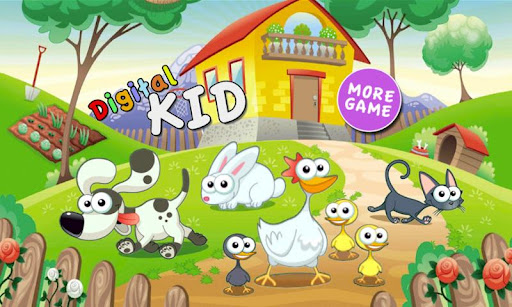 Farm Friends free edu puzzle
