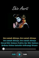 Screenshot of Shiv Aarti - Audio & Lyrics