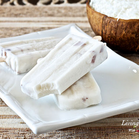 Paleo Coconut Popsicles (dairy/gluten/egg-free)