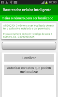 Screenshot of Rastreador celular Inteligente