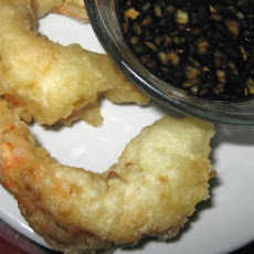 Shrimp Tempura With Dipping Sauce