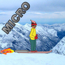 Turbo Snow Skiing Micro