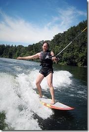 mahina skurfing