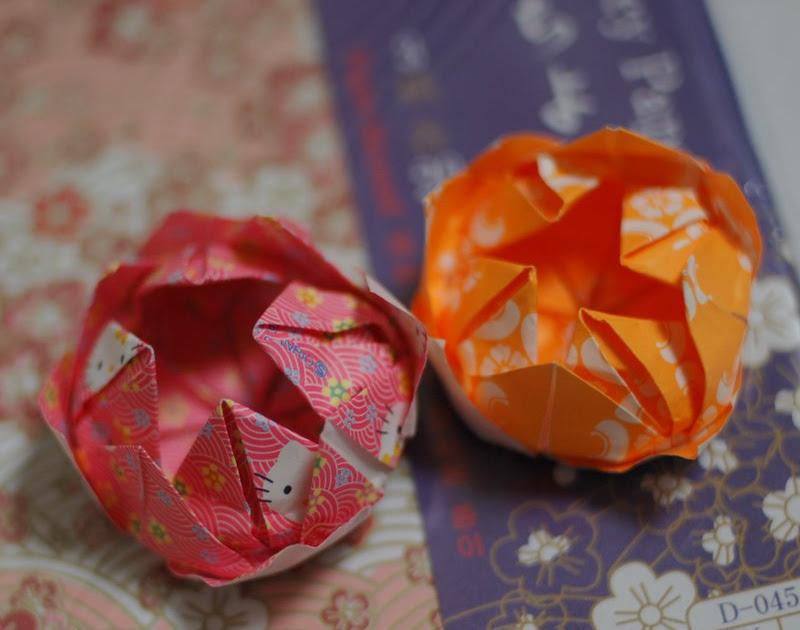 mairuru how to make an origami lotus