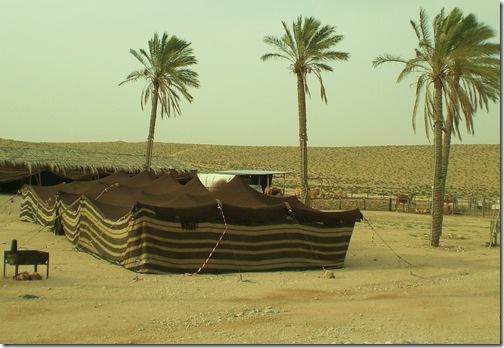 13 bedouin tent