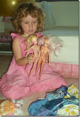 63 Barbie sewing