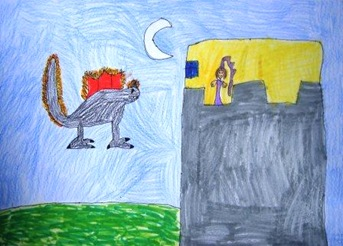 O dragón negro e a princesa, de Marta e Jacobo