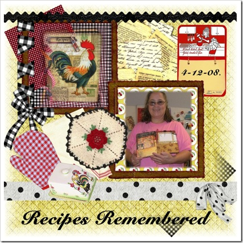 collage recipe remembered class pictures