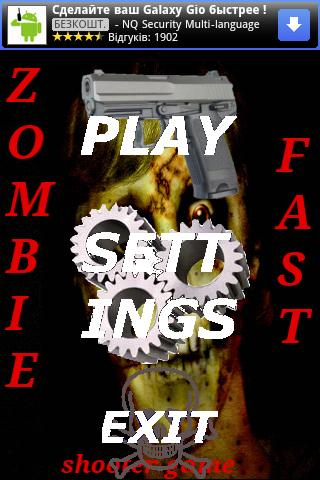 Zombie Fast - Shooter Game