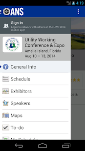Utility Working Conf & Expo - screenshot