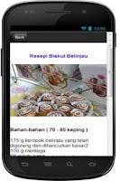 Screenshot of 101 Resepi Biskut Raya Sedap