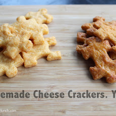 Delectable (customizable!) Homemade Cheese Crackers