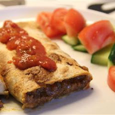Beef Chimichangas