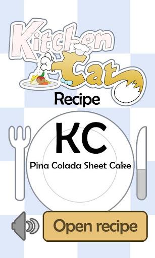 KC Pina Colada Sheet Cake