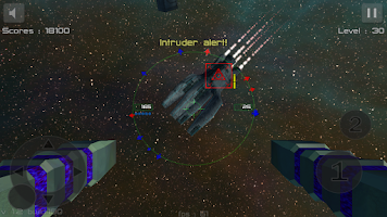 Screenshot of Gunner : Free Space Defender