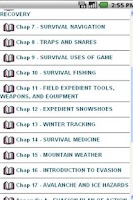 Screenshot of USMC Winter Survival Handbook