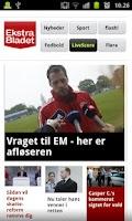 Screenshot of Ekstra Bladet
