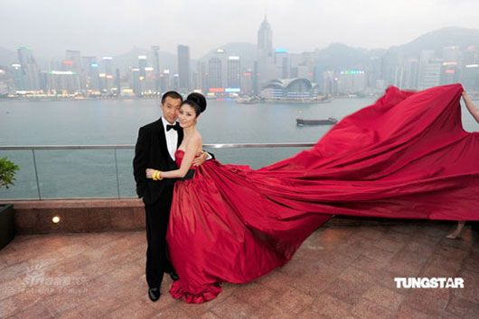 Kelly Chen Wedding Photos