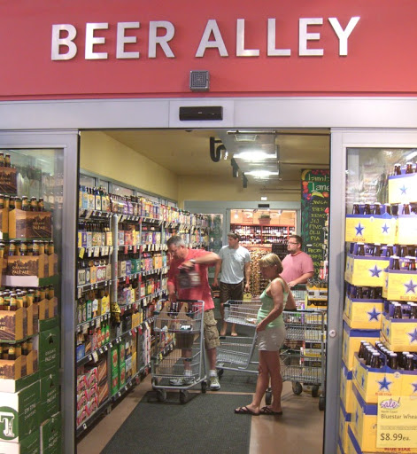 Beer Alley at Whole Foods in Austin