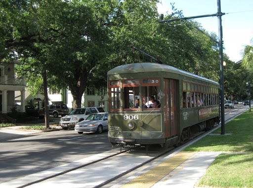 Canal Streetcar in New Orleans