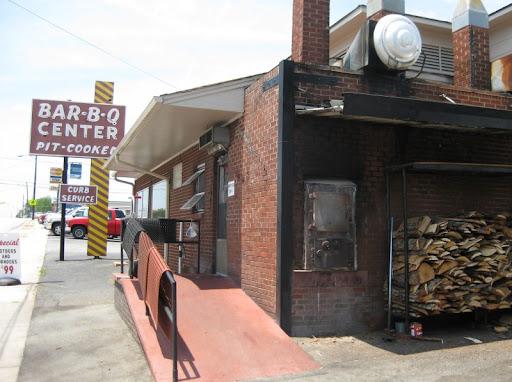 Barbecue Center in Lexington, North Carolina