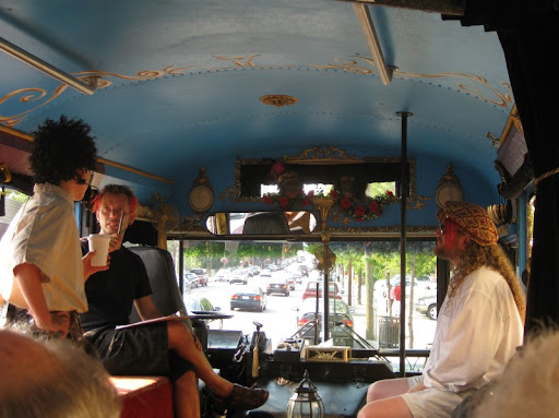 Inside the LaZoom Tour Bus