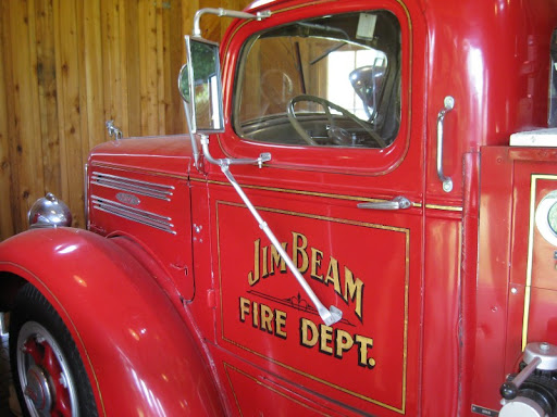 Firetruck at Jim Beam Distillery