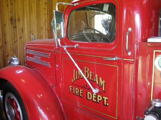 Firetruck at Jim Beam Distillery