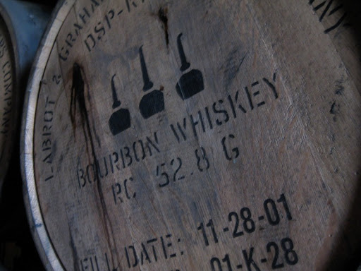Whiskey Barrel at Woodford Reserve Distillery