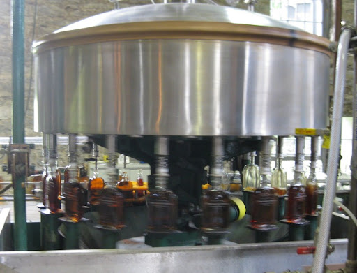 Bottling at Woodford Reserve Distillery