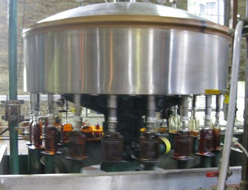 Bottling at Woodford Reserve Distillery