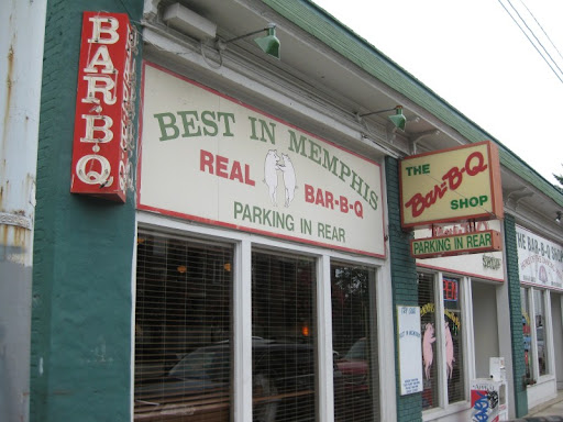 The Bar-B-Q Shop in Memphis, Tennessee